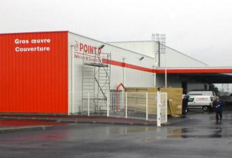construction d'entrepôt batiment commercial point P