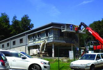 Construction batiment charpente metallique Isneauville Bray CM