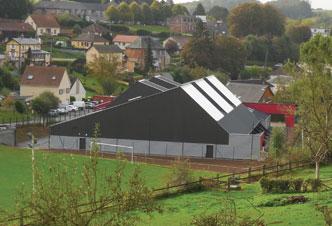 rénovation énergétique gymnase bâtiment communal